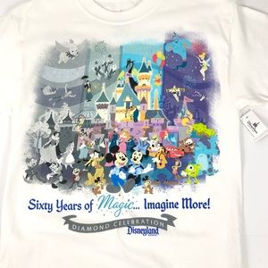 Disneyland's 60 Yrs Of Magic T-Shirt | Small